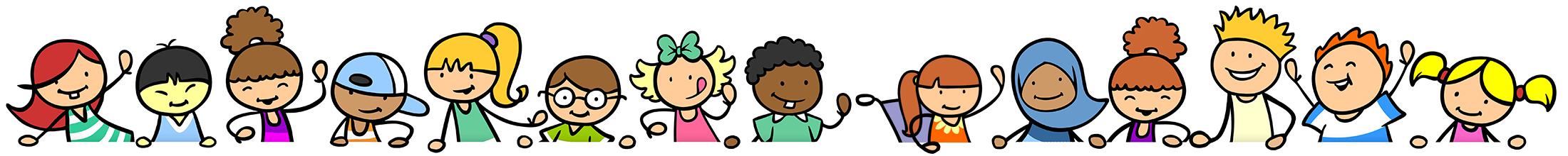 multikulturelle Kinder